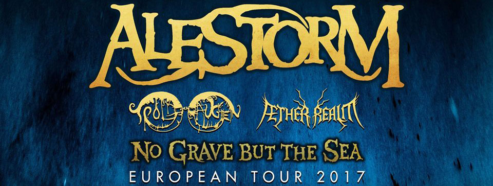 Alestorm - No Grave But The Sea Tour