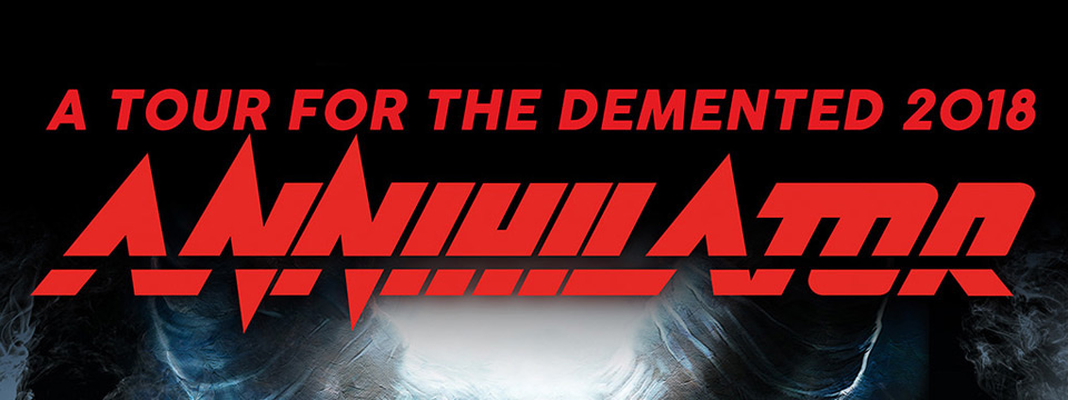 ANNIHILATOR – 2019. november 21-re halasztva