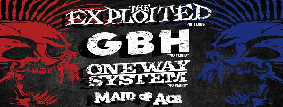 British Punk Invasion III. - Budapest (HUN)