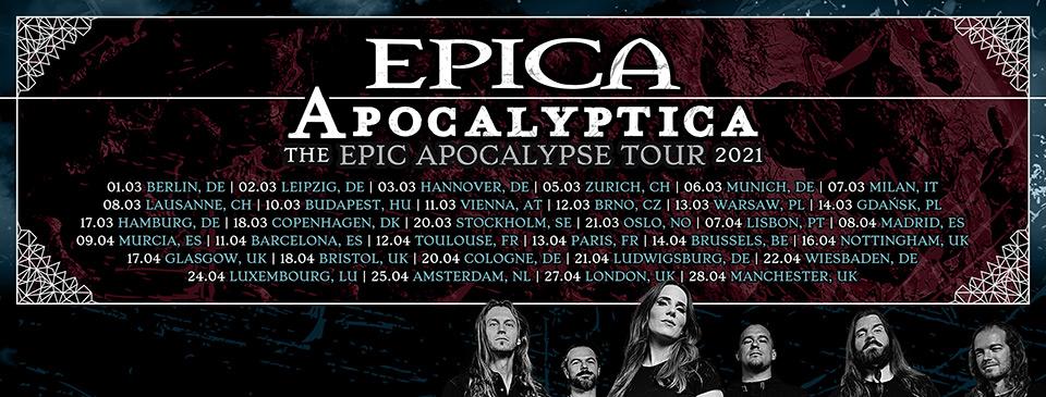 EPICA   APOCALYPTICA   Wheel - VIP Ticket