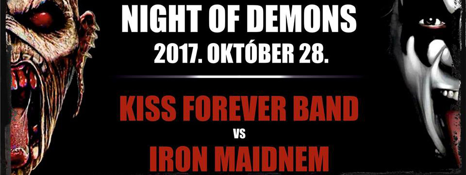 KISS Forever Band - Iron Maidnem