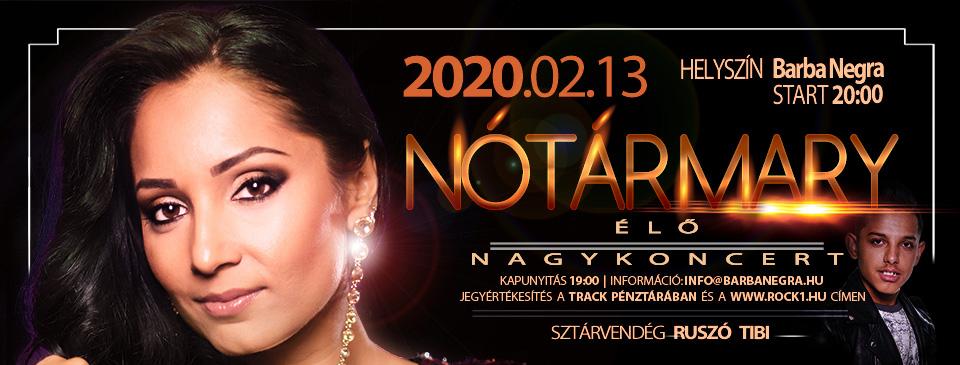 NOTÁR MARY Nagyzenekaros Koncert