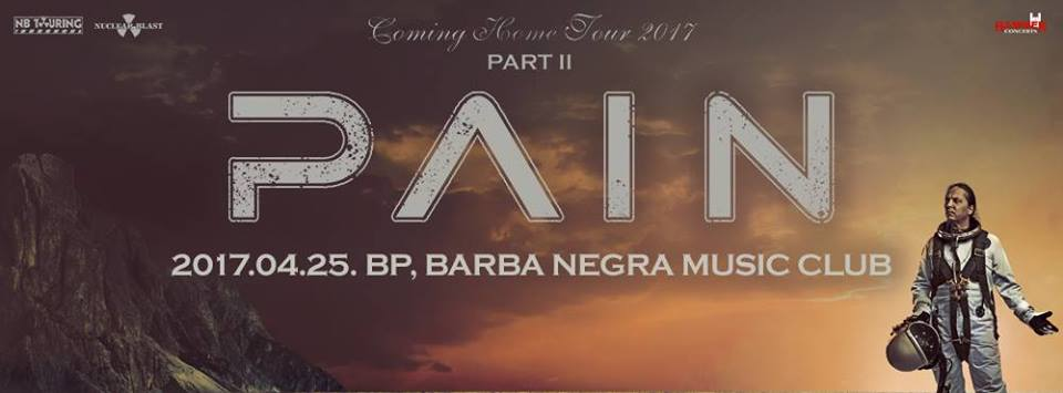 PAIN - Coming Home Tour 2017 Part II