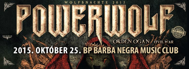 Powerwolf | Orden Ogan | Civil War