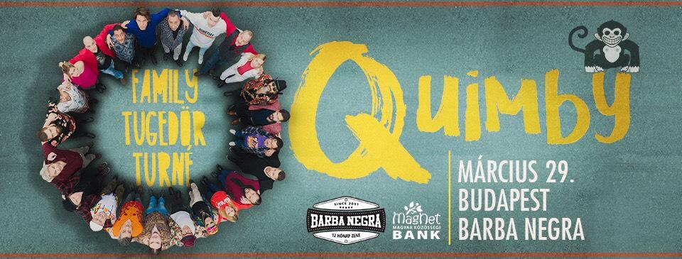 QUIMBY - Family Tugedör - 03/29