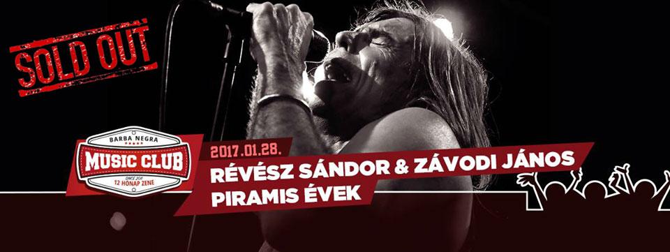 Révész Sándor és Závodi János - PIRAMIS ÉVEK