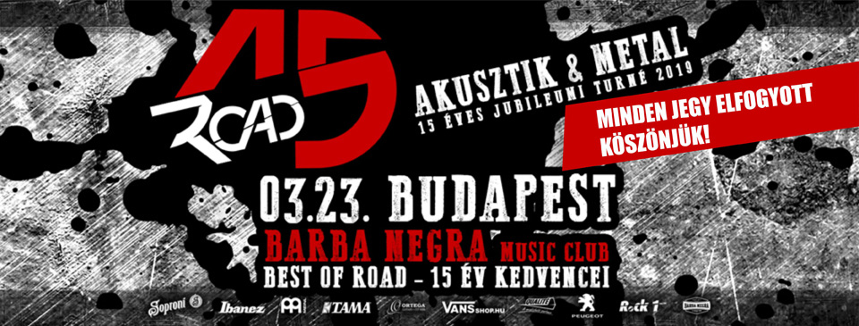 SOLD OUT - ROAD 15 - Budapest - Barba Negra