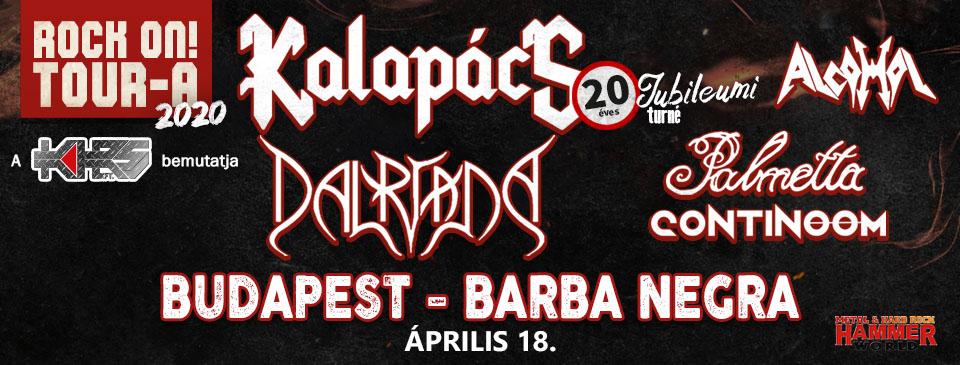 ELMARAD - Rock On! TOUR-A 2020 - Budapest
