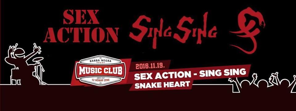 SEX ACTION - SING SING