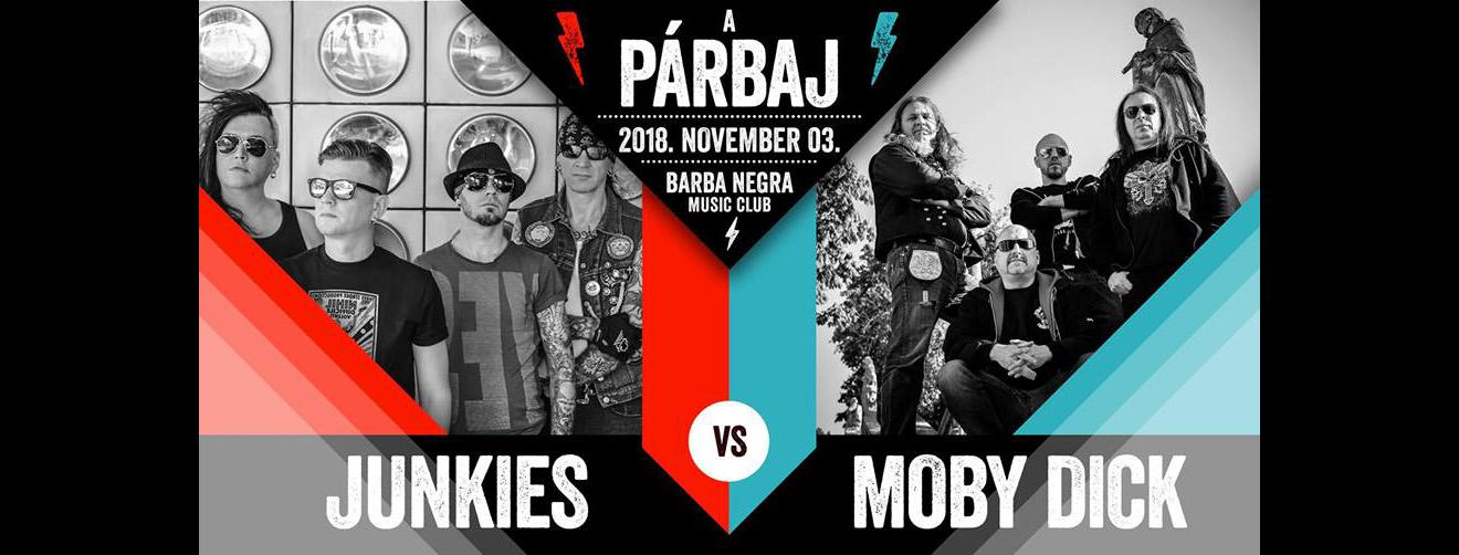 Moby Dick vs Junkies | Thrash & Roll Párbaj
