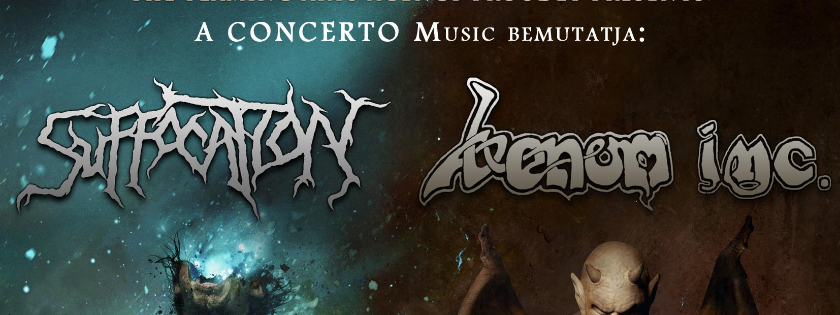 VENOM INC. I Suffocation I Nervosa I Aeternam