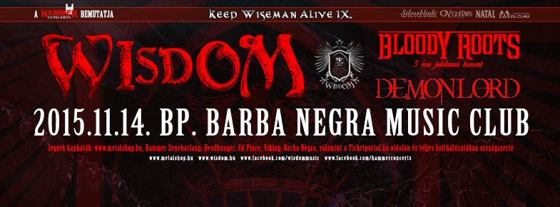 WISDOM | BLOODY ROOTS | DEMON LORD