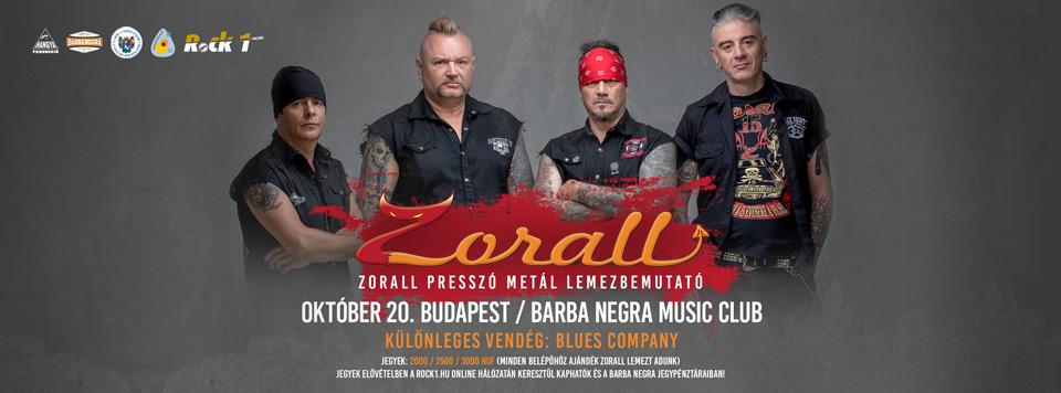 ZORALL - Lemezbemutató Koncert